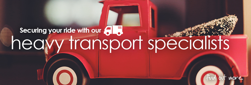 Heavy Transport Insurance